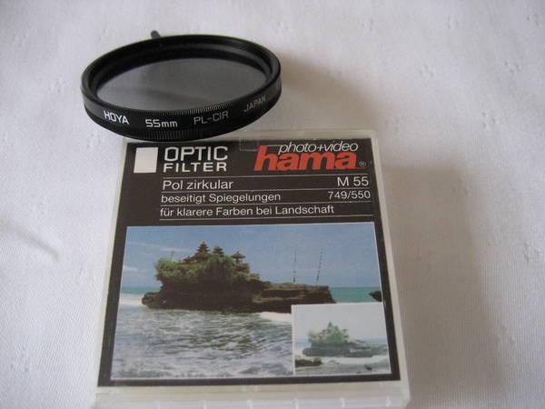 HOYA Optikfilter Pol Zirkular - Drehfassung