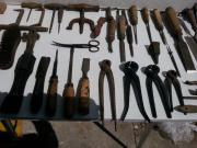 Hufschmied Werkzeuge