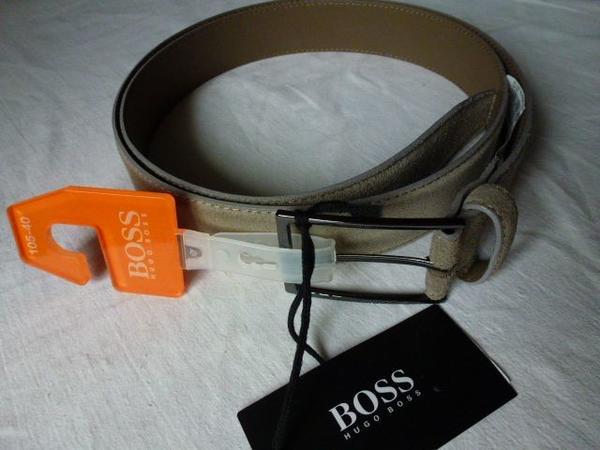 "HUGO BOSS Orange Gürtel ""Calindo"" 110cm gebraucht kaufen  10409 Berlin"
