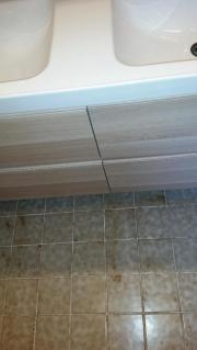 Doppelwaschbecken mit unterschrank ikea  Ikea Doppelwaschbecken und Unterschrank 120 cm breit bereits ...
