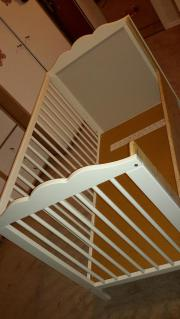 Kinderbett ikea hensvik  IKEA Kinderbett Hensvik 120x60 komplett. Funktion Beistellbett ...