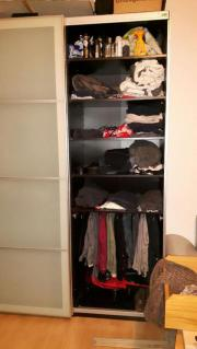 Kleiderschrank ikea schiebetüren  IKEA PAX Kleiderschrank, Schwarz, Schiebetüren in Milchglas, sehr ...