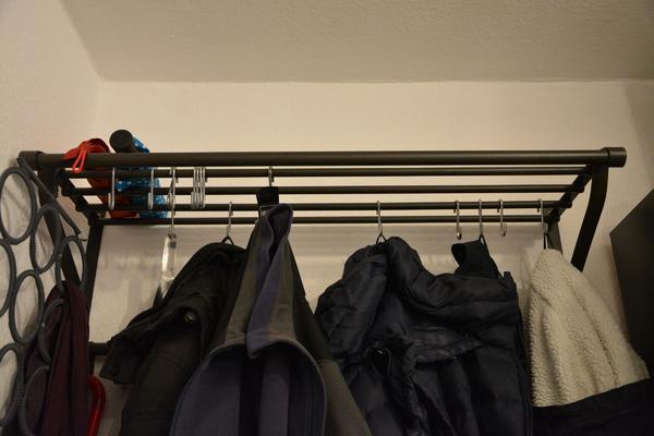 garderobe schwarz gebraucht kaufen nur 3 st bis 70 g nstiger. Black Bedroom Furniture Sets. Home Design Ideas
