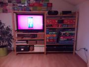 ikea pax schiebet ren schrank inkl einrichtung in rostock ikea m bel kaufen und verkaufen. Black Bedroom Furniture Sets. Home Design Ideas