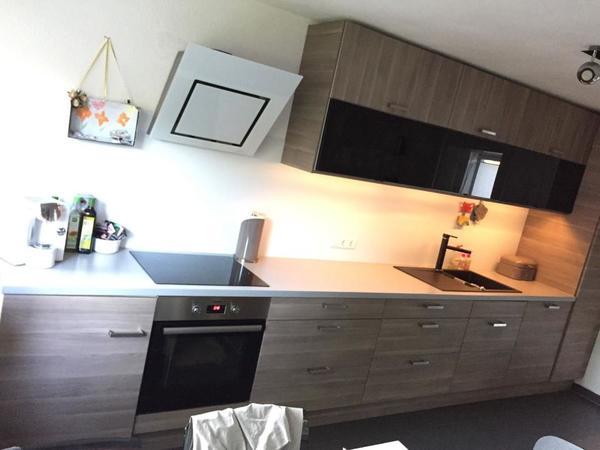 IKEA Sofielund Faktum Küche 3 J alt mit E-Geräten Induktion ...