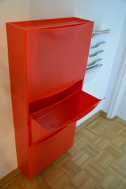 Schuhschrank ikea  IKEA Trones Schuhschrank Aufbewahrung rot 3 Stück in München ...