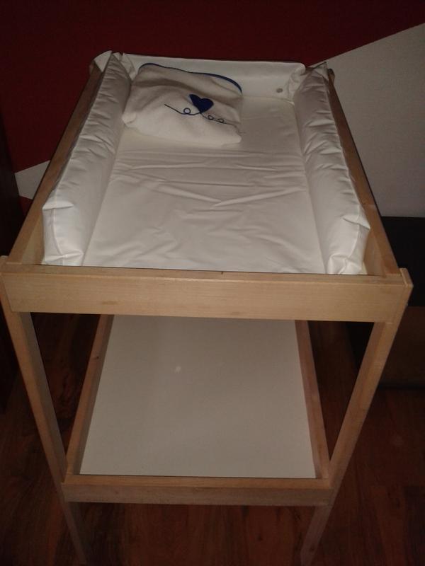 Wickeltisch Ikea ikea wickeltisch mit wickelauflage in lichtenwald wickeltische kaufen und verkaufen über