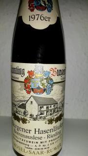 Jahrgangswein 1976er Beerenauslese