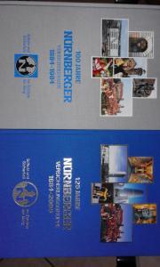 Jubiläumsbücher der Nürnberger