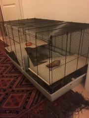 käfig mit hamster