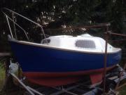 Kajütboot zum Angeln