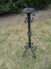 Kerzenständer Schmiedeeisen Handarbeit Schlosserarbeit Geschenk