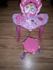 Kinder Spiegeltisch - Schminktisch mit Stuhl