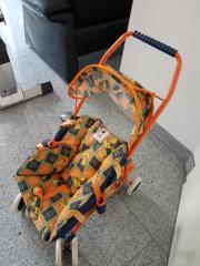 Kinderspielzeug Ritterburg , Puppenwagen