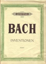 Klaviernoten: Bach Inventionen