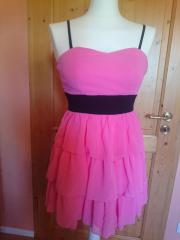 Kleid Corsagenkleid pink Gr 34