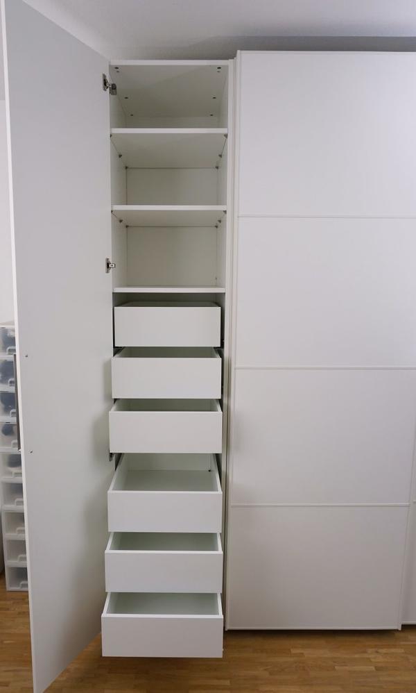 ikea kleiderschrank weiss gebraucht kaufen nur 4 st bis 65 g nstiger. Black Bedroom Furniture Sets. Home Design Ideas