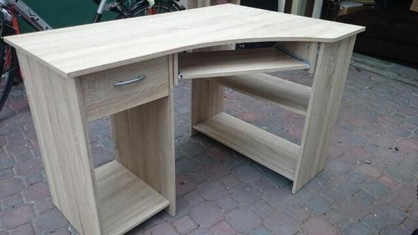 eckschreibtisch buche neu und gebraucht kaufen bei. Black Bedroom Furniture Sets. Home Design Ideas