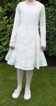 Kommunionkleid Kleid + Bolero