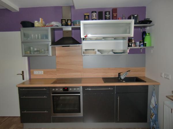 Komplette küche von küchenmöbel schränke