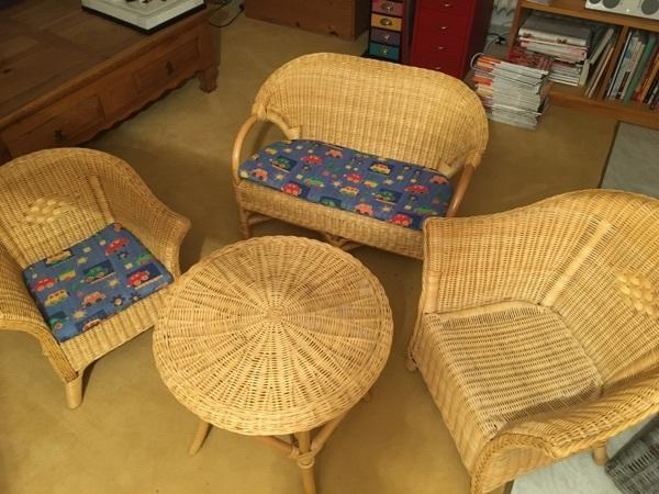 korbm bel f r kinder in seefeld gartenm bel kaufen und verkaufen ber private kleinanzeigen. Black Bedroom Furniture Sets. Home Design Ideas