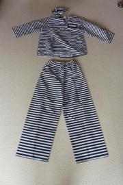 Kostüm Knasti Gefangenenkostüm Größe 44