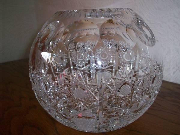 kristall kugelvase in stuttgart dekoartikel kaufen und