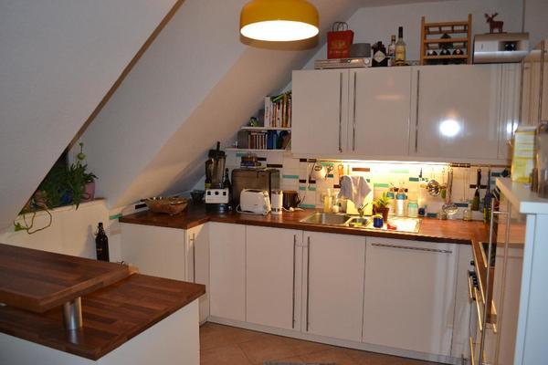 küche (segmüller) komplett, kühlschrank, geschirrspül., herd, usw