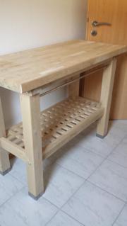 Küchenwagen Groland Ikea (Echtholz) in Heppenheim - Küchenmöbel ... | {Küchenwagen ikea 79}