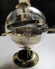 Kugelwetterstation Sputnik Messing