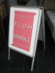 Kundenstopper Messestopper Flohmarkt