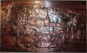 Kupferbild, Kupfer-Wandbild