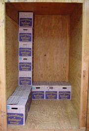 Lagerung Möbel und