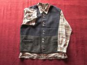 Landhausmode Weste und Hemd