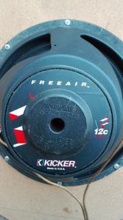 Lautsprecher Kicker Uniplate