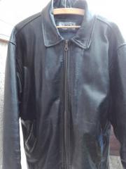 Lederjacke Leder Seide XL Gebraucht