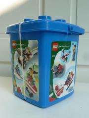 Lego-Bausteine-Eimer OVP s Fotos