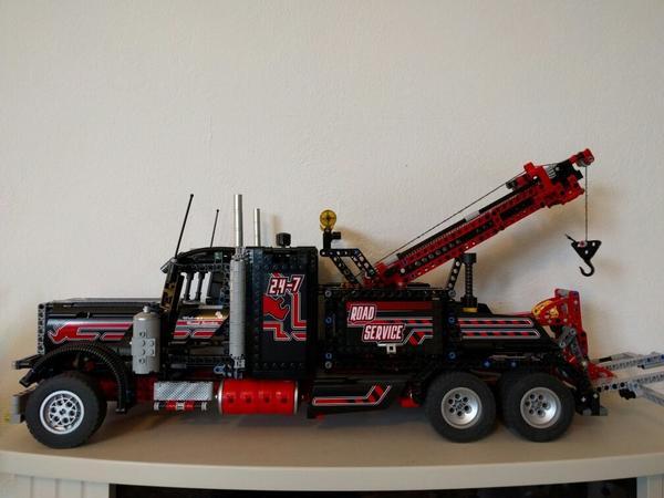 lego technic rarit t 8285 abschlepptruck 8287 motor in. Black Bedroom Furniture Sets. Home Design Ideas
