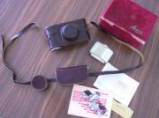 Leica-Kamera 2f mit Elmar-Objektiv von
