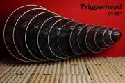 Leise Schlagzeugspielen mit Tdrum Triggerheads