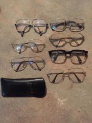 Lesebrillen verschieden mit Gläsern Markengestelle