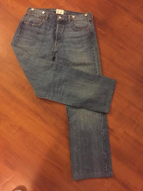 """Levis Jeans""""501""""W33 Modell*1901*Limited Edition! LEVIS VINTAGE! RAR - Gelsenkirchen - Levis-LVC-Jeans 501,W33/L34(wurde auf L32 gekürzt) Model 1901 Limitierte Edition aus der legendären&weltweit bekannten LVC-Reihe """"LEVIS VINTAGE CLOTHING"""" absolut superselten+RAR!!! Diese außergewöhnliche+limitierte&extrem RARE 501-Jean - Gelsenkirchen"""