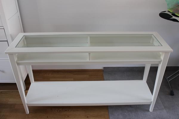 liatorp ablagetisch wei glas in augsburg ikea m bel. Black Bedroom Furniture Sets. Home Design Ideas