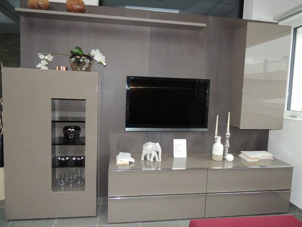 loddenkemper wohnwand media 3000 in b rs. Black Bedroom Furniture Sets. Home Design Ideas
