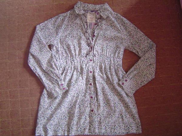 Mädchen Long Bluse Gr 158