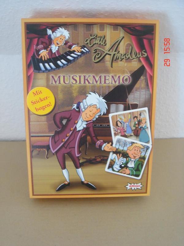 Memory Spiel Little Amadeus