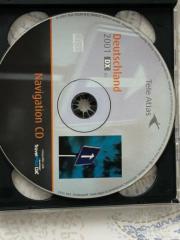 Mercedes Benz-Teleatlas navigation cd
