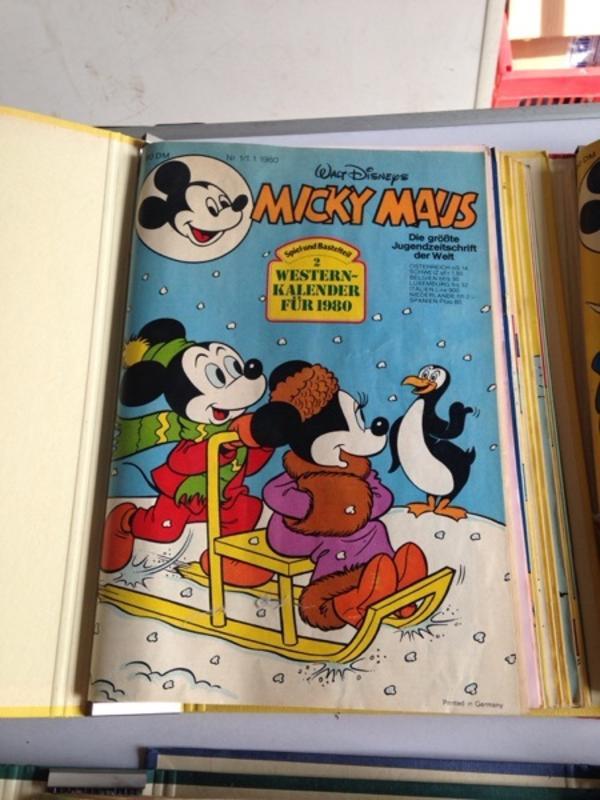 Micky Maus 1980 » Comics, Science fiction, Fantasy, Abenteuer, Krimis, Western