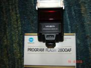 MINOLTA Programm Flash