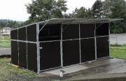 mobile Außenboxen / Weidehütten
